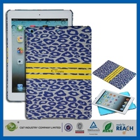 Innovative plain phone case wholesale for ipad mini leather skin back cover