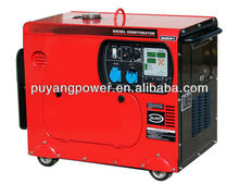 Home use 2kw to 5kw portable diesel generator CE approval(silent/open)