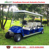 8 Passenger Electric golf cart,Good Quality Golf Cart,Hotel electric cart,four wheel electric car