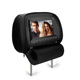 Muliti-function car DVD headrest with DVD and AV player with 7 or 9 inch LED screen display