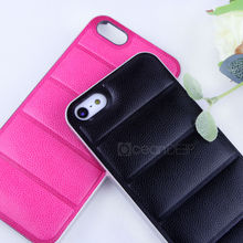 Heat pressing pu leather covered affixed pu voltage for iphone5 new product for iphone accessories 2013