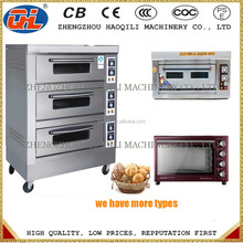 Industrial Bakery Equipment Manufacturer 2 Deck 4 trays Rotisserie Chicken Gas Oven