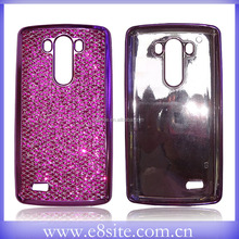 Bling TPU Case For LG G4 Electroplated Design Cell Phone Case