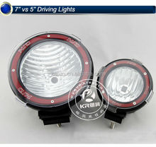 "12 volt hid offroad lights 4"" 7"" 9"" 35w/55w tractor work light"