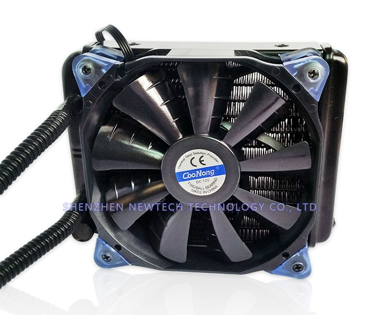 Retail LGA775/1355/1156 Multi CPU All-In-One Hydro Coolers kits/Water cooling with fan
