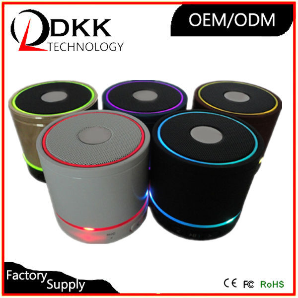 Hot Selling Cylinder Style function portable speaker support TF Card AUX programmable speaker sound speaker price