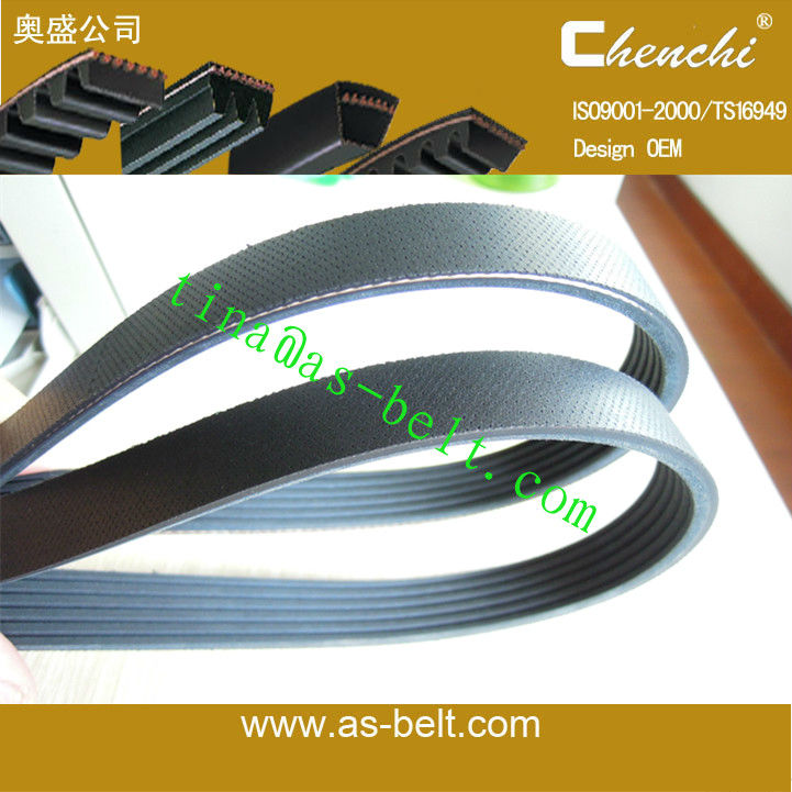 auto rubber poly ribbed belt for car