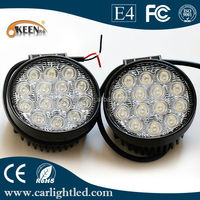 High-power 42W 12/24V LED Work Light Bar for Off-road Vehicle, 5,000-6,000K Color Temperatures