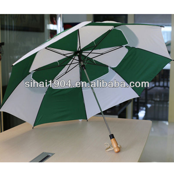 27 inch strong auto open auto close big 2 fold umbrella / china cheap umbrella
