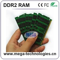 100%Compatible and Original chips perfect notebook ram sodimm ddr2 memory