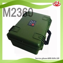 Tricases factory IP67 waterproof shockproof dustproof PP hard plastic tool case with handle M2360