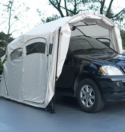 Folding Portable Car Shelter : Superb garage cover portable folding car shelter view