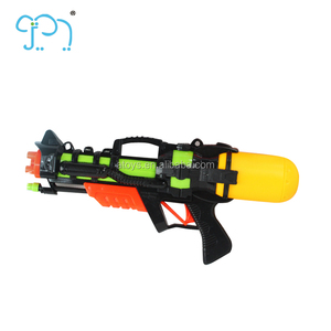 Black Plastic Water Gun For 2017 New Water Gun Toy With Short Bottle