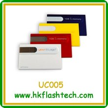 CRAZY!!!10% price-off promotions card usb flash memory with your logo
