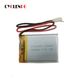 Safe and light 303040 3.7v 300mah li-polymer rechargeable battery