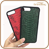Luxury Exotic Genuine Real Boa Python Skin Leather Cell Phone Mobile Phone Case for Iphone 7 or for Iphone7 Plus