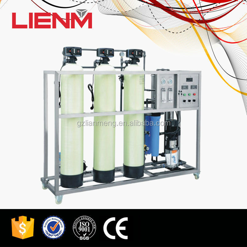 Industrial 1000 lph Salt Water Treatment Plant Automatic Reverse Osmosis Water Treatment System