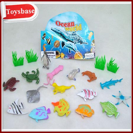 Sea world animal toys