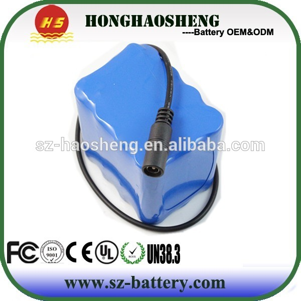 Rechargeable cj 18650 battery 8S1P lithium ion battery 29.6V 3200mAh