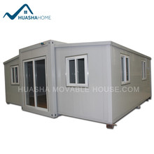 Temporary Portable modified folding container houses