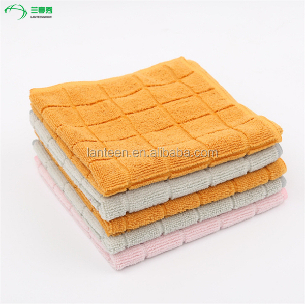 Car Cleaning Wash Polish Clean Super Soft Cloth Microfiber Towel 30 x 30 cm 5pc