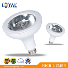 High efficiency led spotlight smd par38 18w e27 led mini par lights