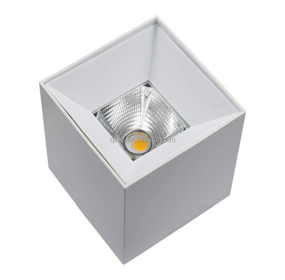 High quality Surface Mounted Square LED Downlight 10W 15W 20W 30W