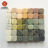 bar accessories Whisky stone beer cooler wine chiller soapstone marble cube customized whiskey ice stone engraved