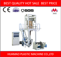 ABA 3 layers second hand pe greenhouse mulch film extrusion machine