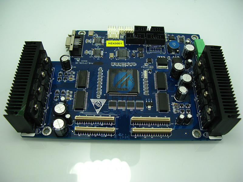 K-jet Human BYHX main board/motherboards/mainboard for solvent printer Allwin/Human/Xuli DX5 printhead(blue)