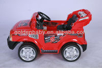 Ride On Toy Car, 4 colors with green/red/black/white, rechargeable toy car,