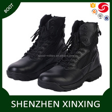 High quality safety work military composite boots Fashionable black genuine leather USA Army military black combat boots
