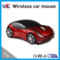Wireless Car mouse with pretty design for gifts