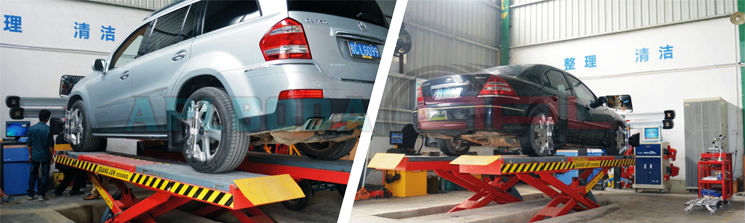 high precision APL-8100 WIFI four wheel alignment machine,with CE certificate