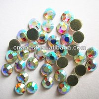 2014 Fashionable crystal ss16 capri blue ab-1 dmc Cheap wholesale rhinestone trimming