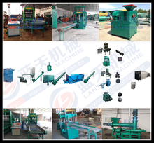 Gongyi lantian mechanical plant supplied BBQ and shisha charcoal briquette making machine