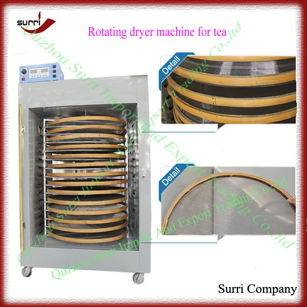 14 layers rotating green tea drying machine
