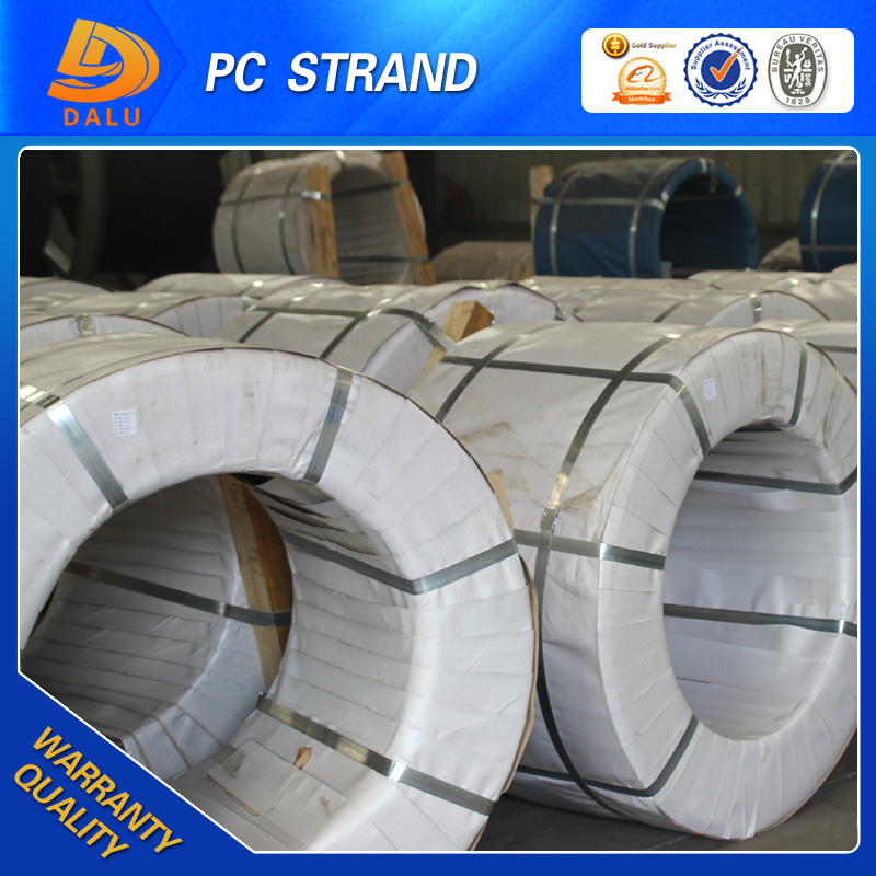 Best quality Steel Wire Ropes and unbonded prestressed steel strand or PC strand