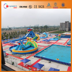 2014 inflatable water park with swimming pool/inflatable floating water park/water park for sale