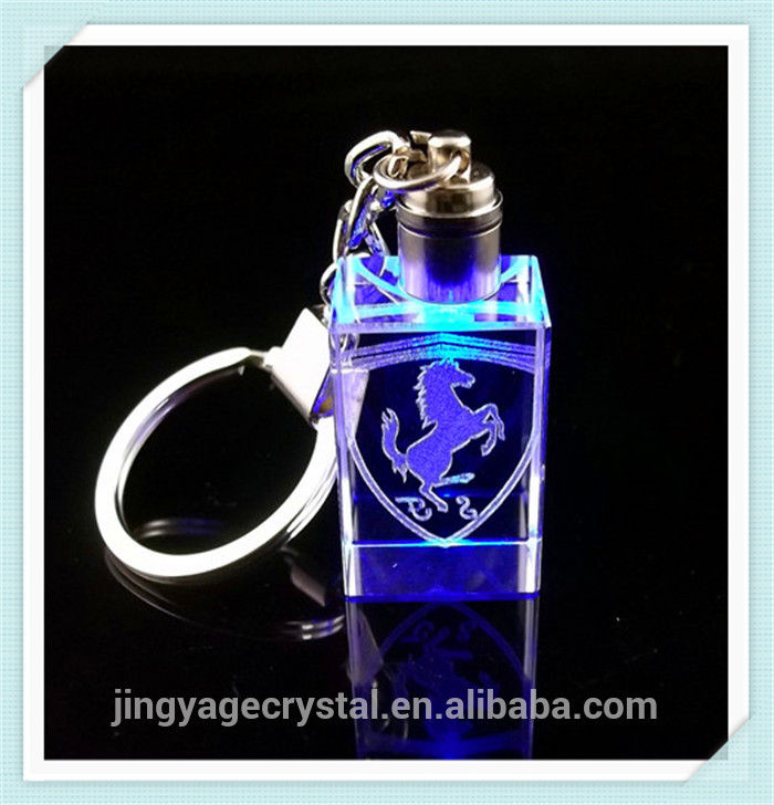 Over 15 years experience 3d laser transparent photo led dota2 keychain