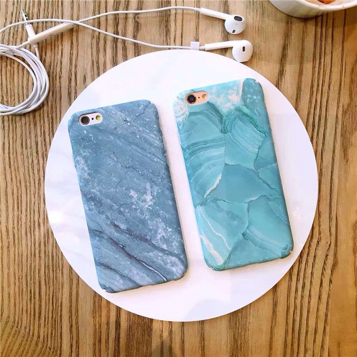 Chic Green Blue Turquoise Marble Case for iPhone 5S/5/SE