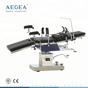 AG-OT025 Economic emergency care surgery hydraulic operating table with Leg holder