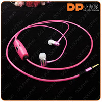 2016 china supplier LED glow headphones visible flow led light earbuds with microphone