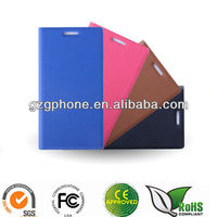 flip leather case cover for huawei ascend p6