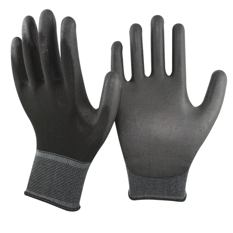 Custom 13 Gauge Nylon Liner PU Coated Work <strong>Gloves</strong>