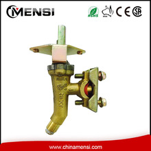 Brass ball valve for gas stove oven
