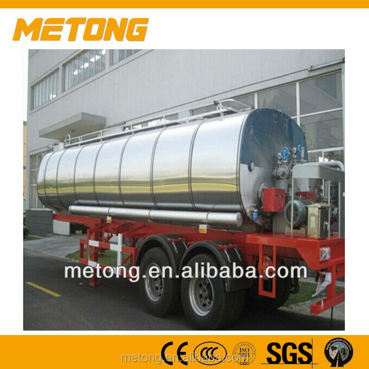 25000L Automatic Transportation Truck Trailer,transportation bitumen tank truck,tank trailer