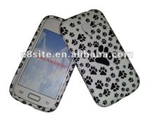 Foot Print Cell Phone Printing TPU Case For SamSung i8160 Galaxy Ace 2