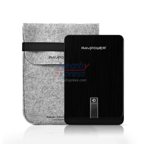 Power Bank for Laptop 23000mAh, 10 Connector for Many Laptop Brands, RAVPower Brand