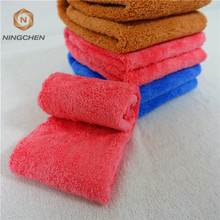 80% polyester 20% polyamide super soft thicken car washing Microfiber Promotional Custom Hand Towel and Jacquard towel Designs